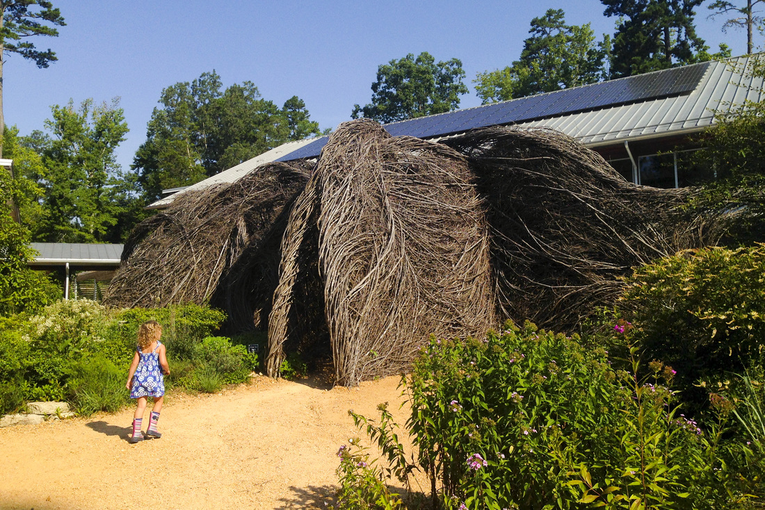 A great resource for outdoor, family-friendly activities in and around Chapel Hill and Pittsboro, NC. The Children's Wonder Garden at the North Carolina Botanical Garden. By Calm Cradle Photo & Design