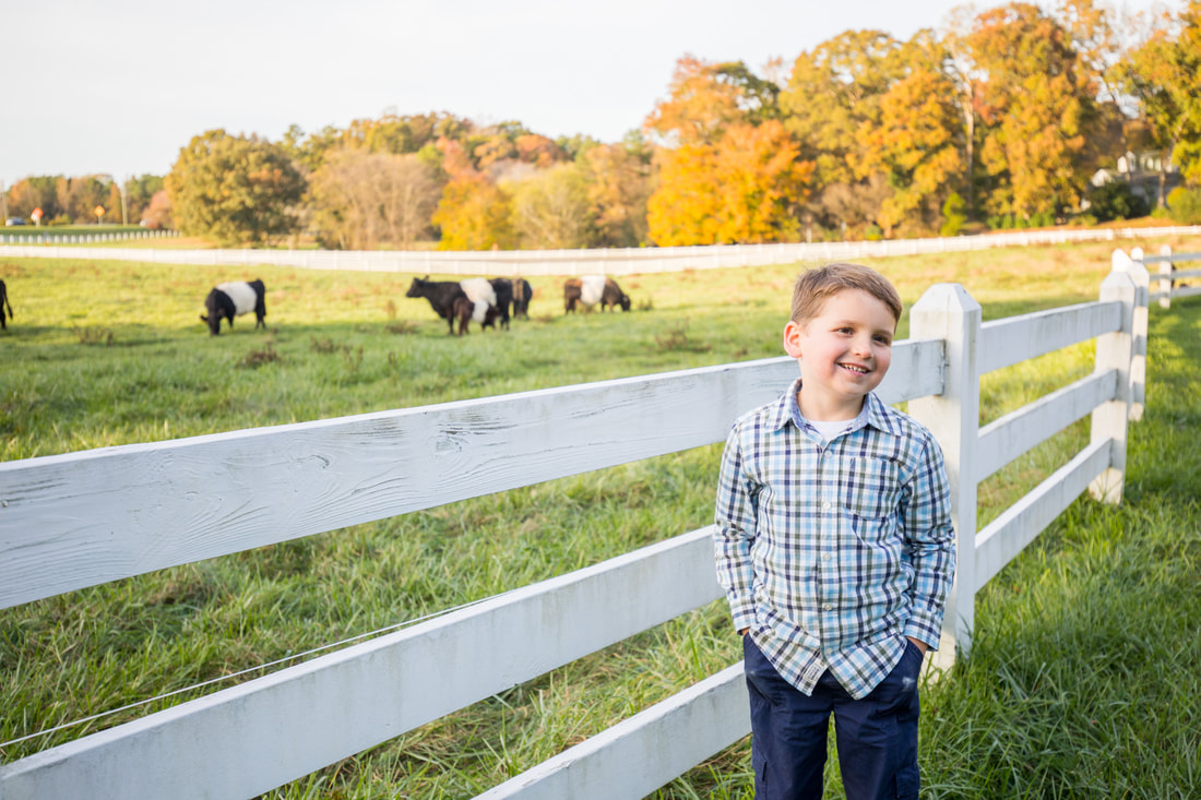Lifestyle portraits: A family session at Pittsboro's Fearrington Village. By Calm Cradle Photo & Design (Chapel Hill, NC)