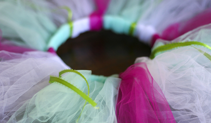 DIY tutu (no sewing machine). Calm Cradle Photo & Design