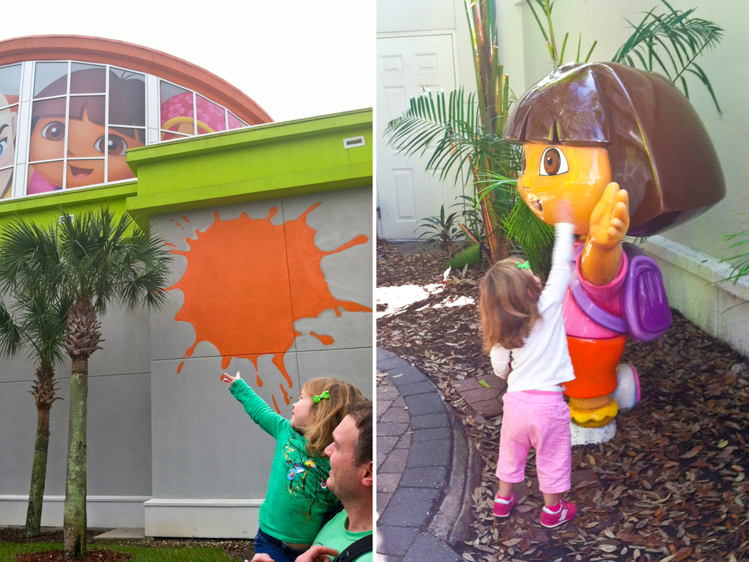 It's Dora! Nickelodeon Suites, Orlando, Florida. Calm Cradle Photo & Design