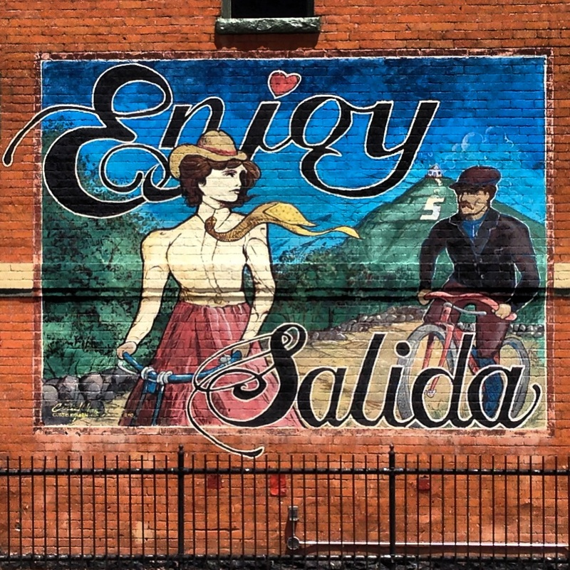 Enjoy Salida, Colorado. By Calm Cradle Photo & Design