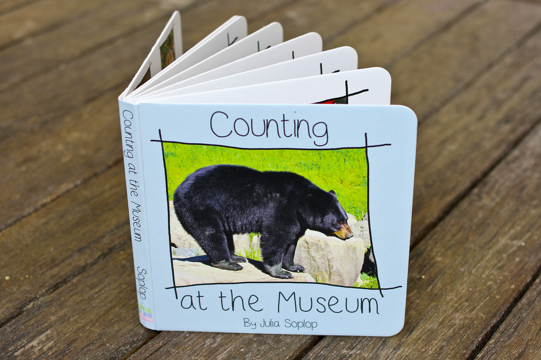 DIY themed counting board book.