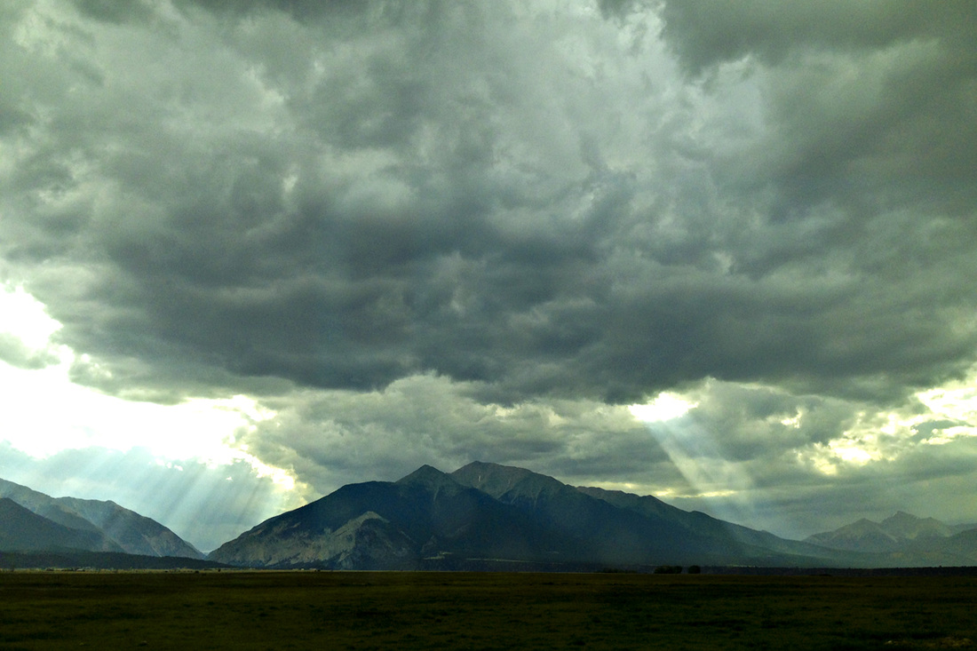Storms over the Rockies. Upper Arkansas River Valley, Colorado. By Calm Cradle Photo & Design