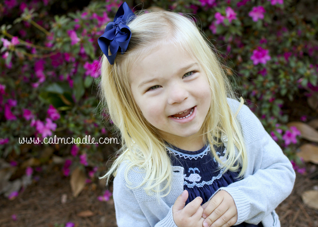 Portraits: Little girl at the Duke Gardens. By Calm Cradle Photo & Design