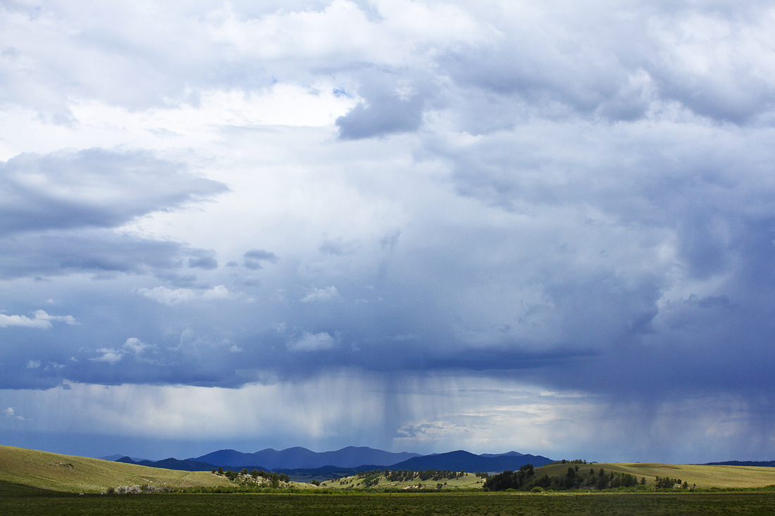 Storm over South Park, Colorado. By Calm Cradle Photo & Design