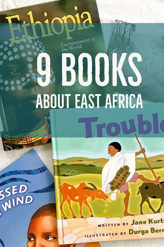Around the World Unit Study: 9 Books About East and Central Africa. (Calm Cradle Photo & Design)