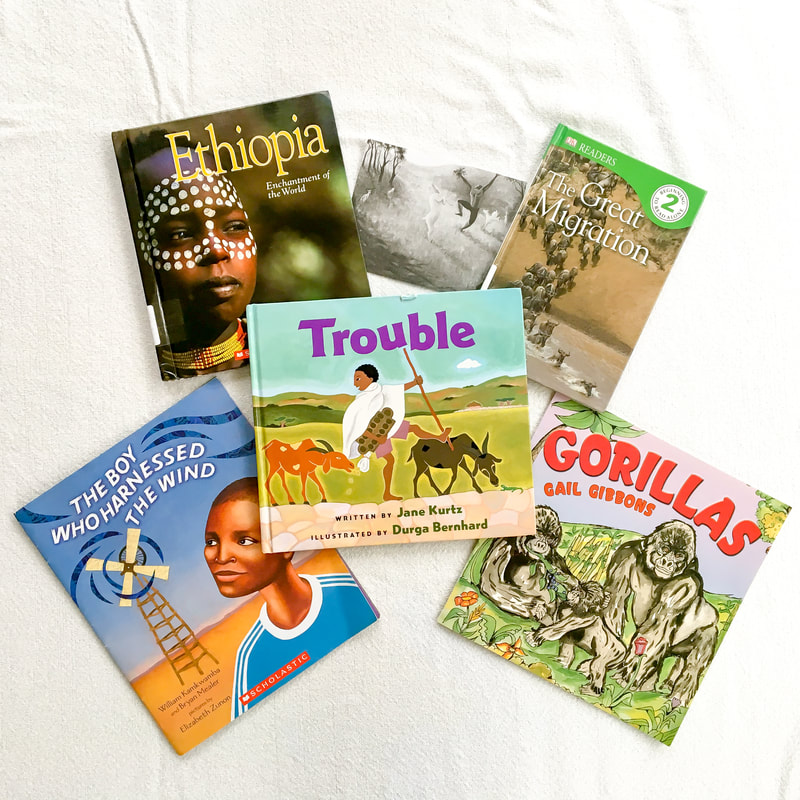 Around the World Unit Study: East (Part II) and Central Africa Book Lists. By Calm Cradle Photo & Design
