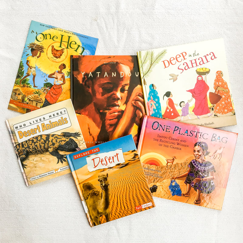 Around the World Literature Study: West Africa Books. By Calm Cradle Photo & Design