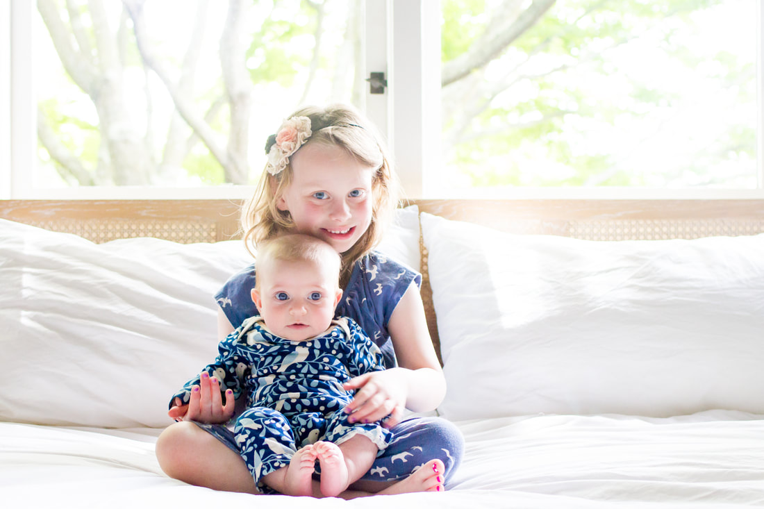 Lifestyle portraits: The Berkeley sisters. By Calm Cradle Photo & Design (Chapel Hill, NC)